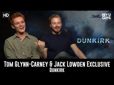 Tom Glynn Carney & Jack Lowden  Dunkirk Exclusive Movie