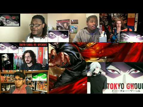 Reaction Mashup Opening Tokyo Ghoul :re (asphyxia) Co Shu Nie