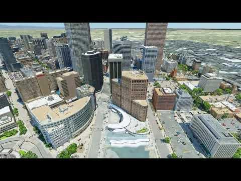 Explore Denver The udStream 3D Model