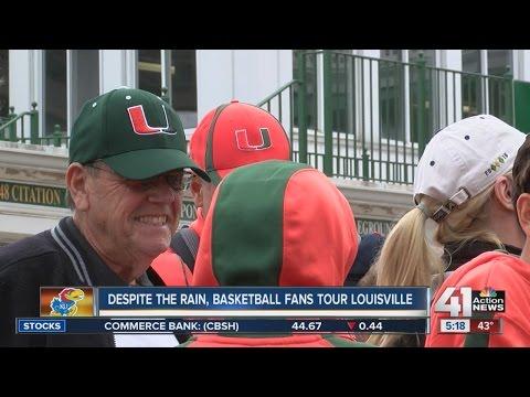 KU fans tour Louisville