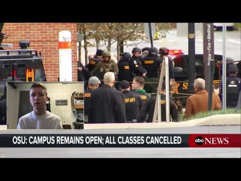 Ohio State Reacts to Campus Attack