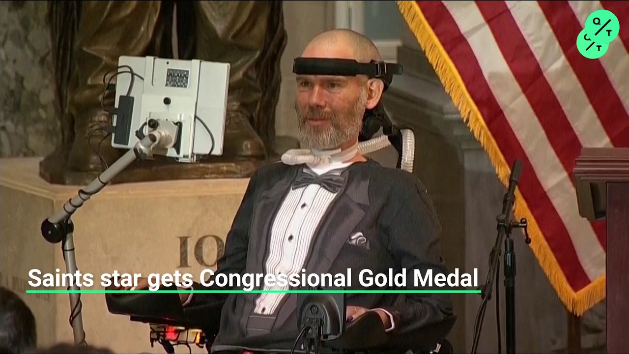 Ex-NFL player Steve Gleason given the Congressional Gold Medal ...