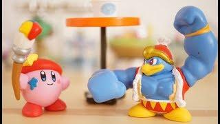 kirby miniature toy! 「kirby star allies Round mascot」星のカービィ!スターアライズ のガチャ!「まんまるマスコット」