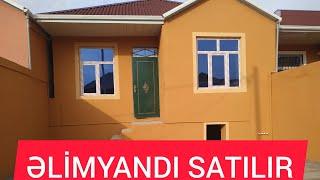 Əlimyandı SATIŞ Super 3otağlı Kupçalı Həyət evi SATILIR 070-310-85-81 Qurban M.