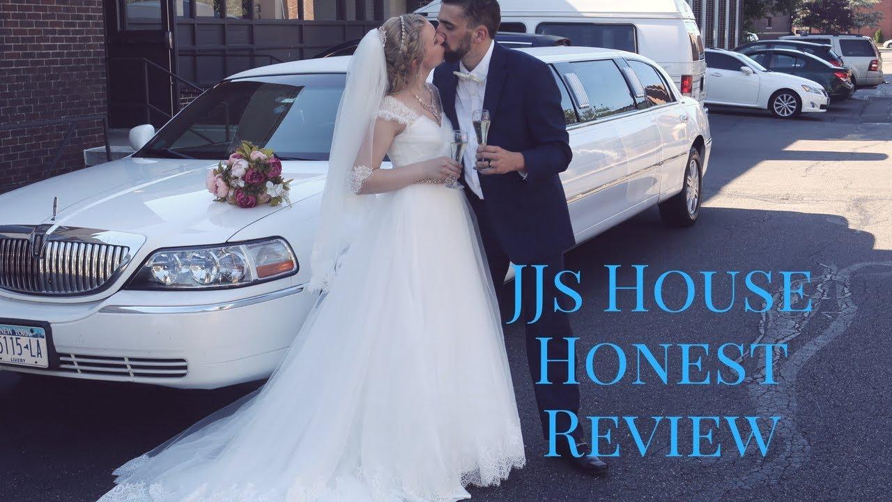 JJs House Wedding Dress Review   YouTube