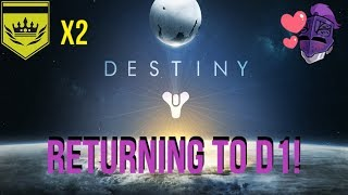 DESTINY 1 - BACK TO BACK SUM OF ALL TEARS!