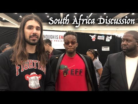 Conversation About South Africa With EFF Supporter: Julius Malema & White Farmers (Boers)