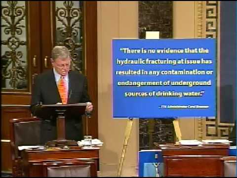 Inhofe Responds to Attacks on Hydraulic Fracturing