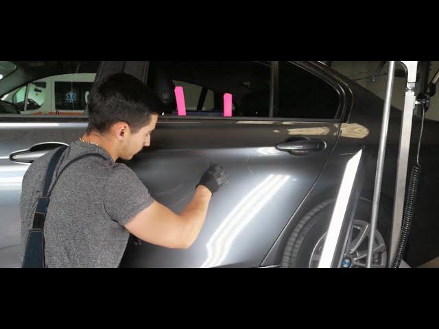 PDR CAR BODY   INDREPTARI CU VENTUZE   BMW F30   Paintless Dent Repair