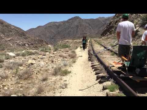 Railriders on the Carrizo Gorge Railway part 2