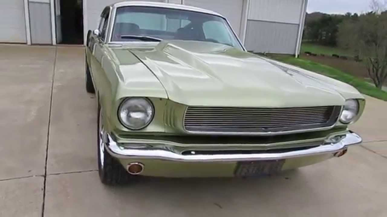 1966 Ford Mustang Fastback Resto Mod Pro Touring Hot Rod
