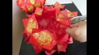 Repeat youtube video 好运橘   红包制作  DIY  Good Luck Orange from red packets