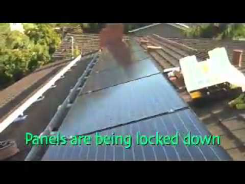 Douglas Doherty Electric & Solar 3.5kWh Installation.mov