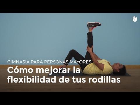 Cómo ganar flexibilidad en las rodillas | Gimnasia para personas mayores