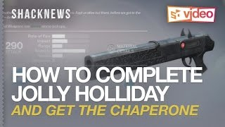 Chaperone Quest: How to easily complete Jolly Holiday