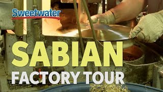 Sabian Factory Tour with Sweetwater