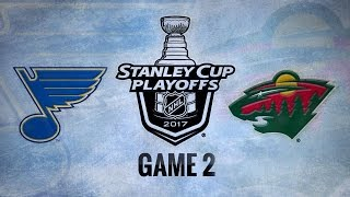 Schwartz's late goal helps Blues to 2-1 win in Game 2