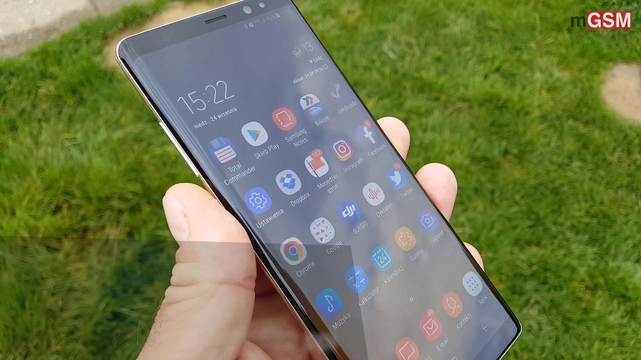 cb8ce79febf7 Samsung Galaxy Note8 - wideorecenzja 🔥🔥🔥    mGSM.PL - YouTube