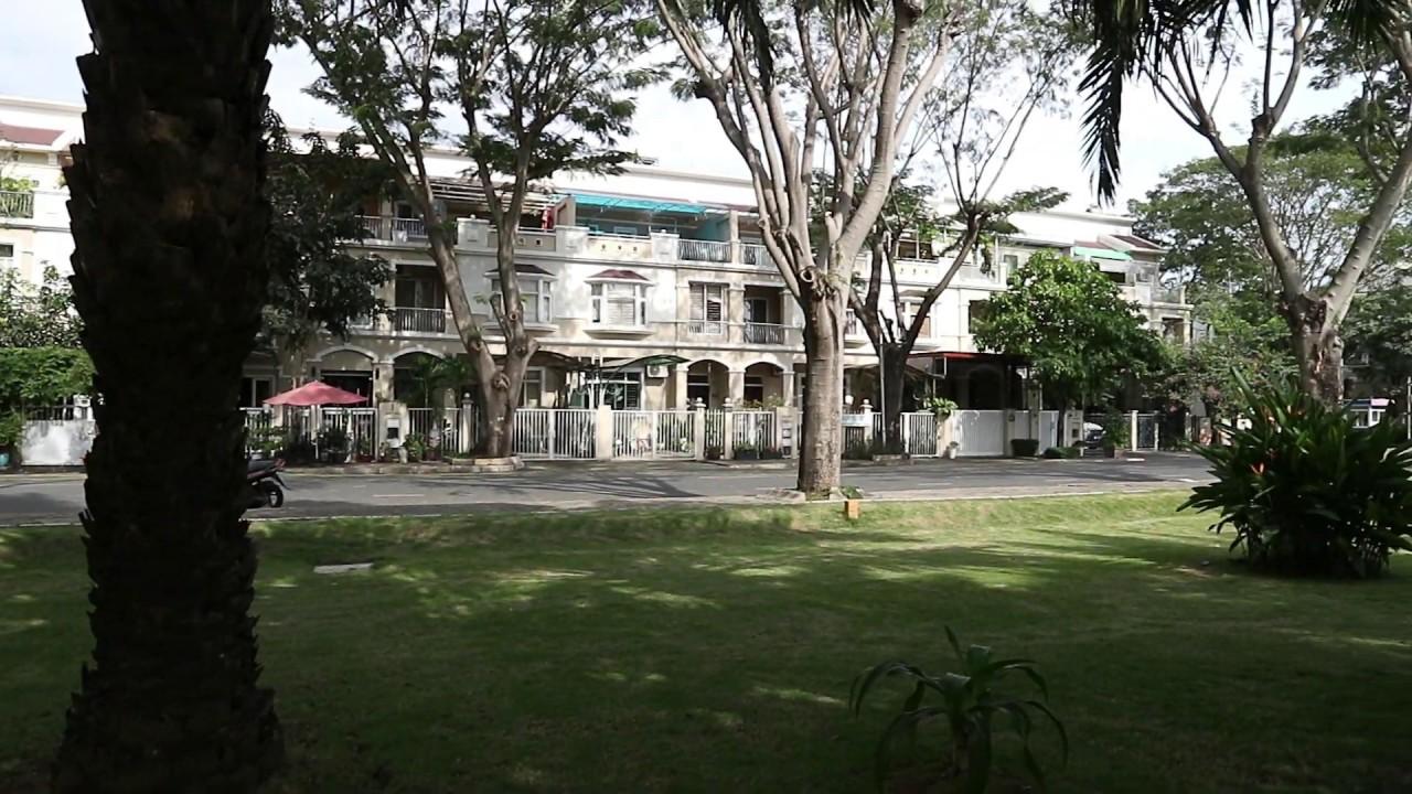Góc đẹp Biệt thự Phú Mỹ Hưng, Quận 7 cần bán giá chỉ 21 tỷ, đường lớn, đối diện công viên Nam Viên