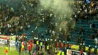 Norge - Bosnia 24.03.2007 Politet jager ut supportere