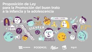 Presentación de la Ley Orgánica para la erradicación de las violencias contra la infancia