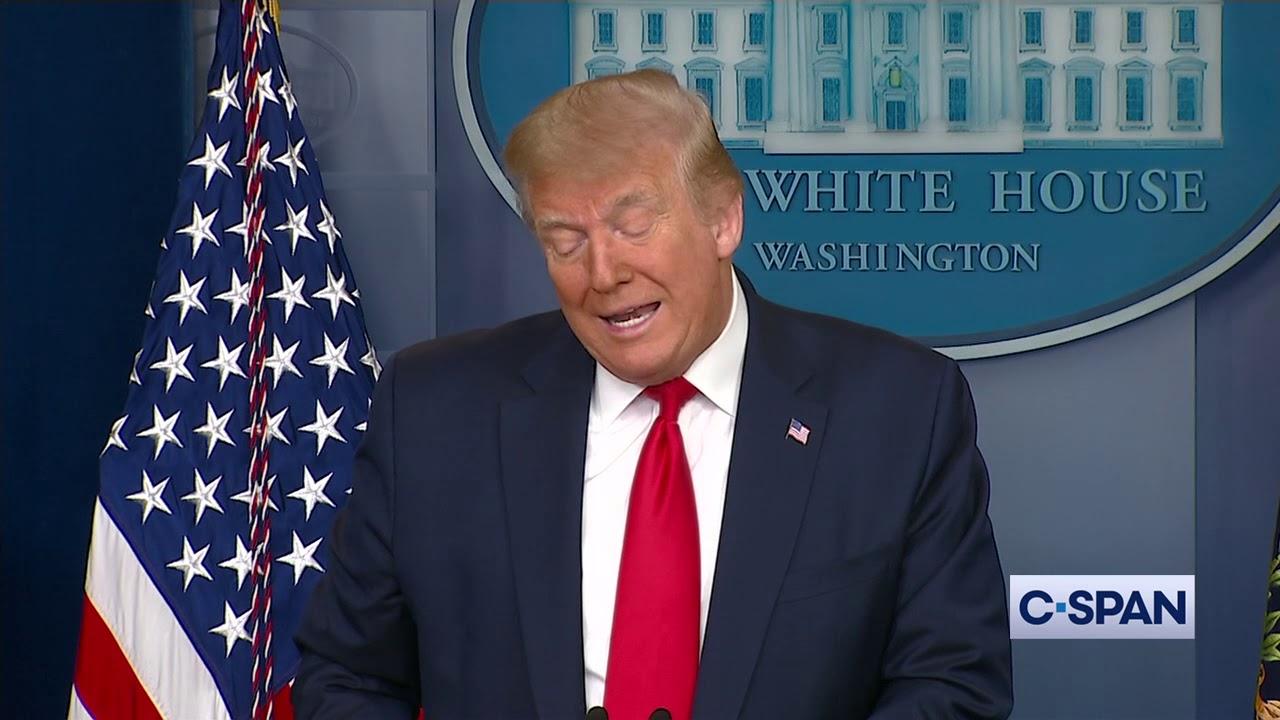 President Trump statement on Economy