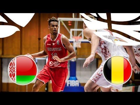 Belarus v Belgium - Full Game - FIBA U20 European Championship Division B 2018