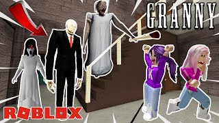 SLENDERMAN MOVES IN WITH GRANNY?! / Roblox: Granny Escape