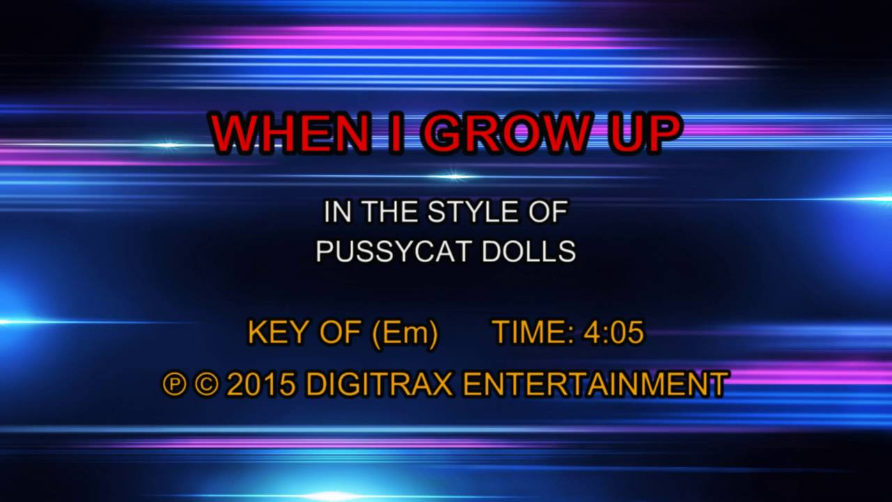 Youtube Pussy Cat Dolls When I Grow Up 98