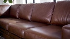 Mateo 4-piece Leather Sectional