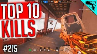 SIEGE PC - Top 10 Plays Rainbow Six Siege on PC Gameplay Highlights - WBCW #215