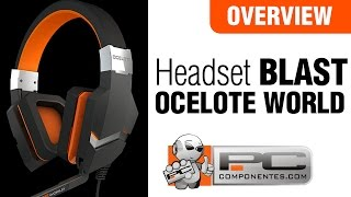 Ozone Blast Ocelote World Headset - Overview