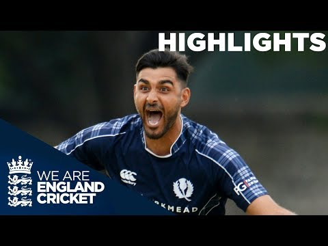 Scotland Beat England For The First Time Ever | Scotland v England ODI 2018 - Highlights