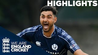 Scotland Beat England For The First Time Ever | Scotland v England ODI 2018 - Highlights Video