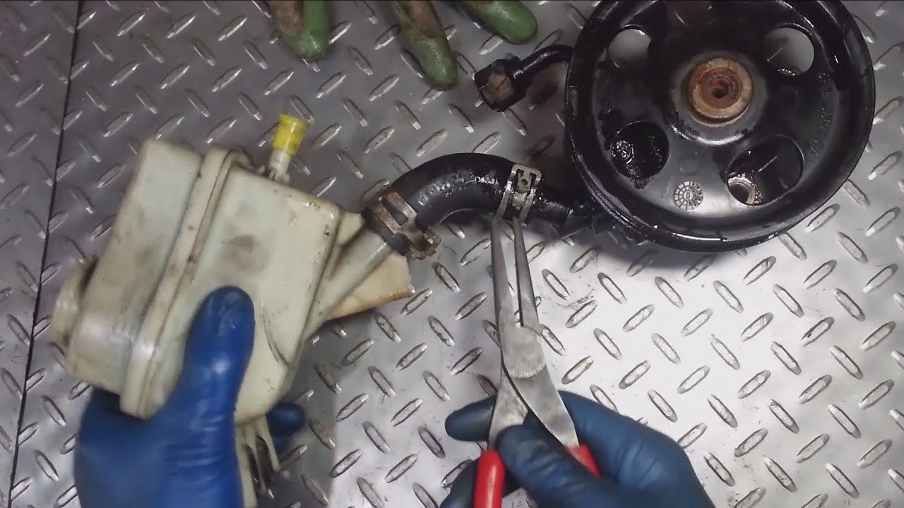 2005 2007 ford five hundred power steering pump replacement [ 1280 x 720 Pixel ]