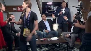 Alex Jones And Roger Stone Interrupt The Young Turks Republican National Convention Coverage by : The Young Turks