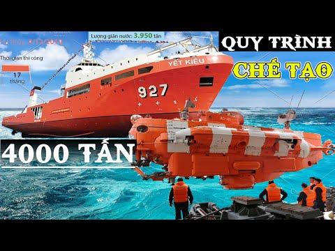 VietNam Navy || TÀU CỨU HỘ TÀU NGẦM YẾT KIÊU 4000 TẤN (Submarine rescue ship)