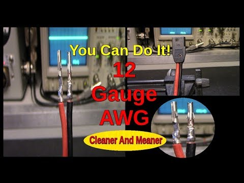 Voltage, what happens when you dont have enough. Use AWG, never settle  less!
