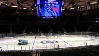 MSG Renovation as seen with a steadycam