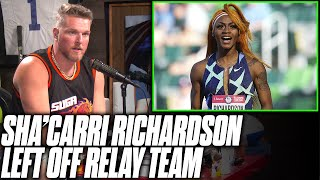 Pat McAfee's Thoughts On Sha'Carri Richardson Not Being Selected For Relay, Missing Olympics