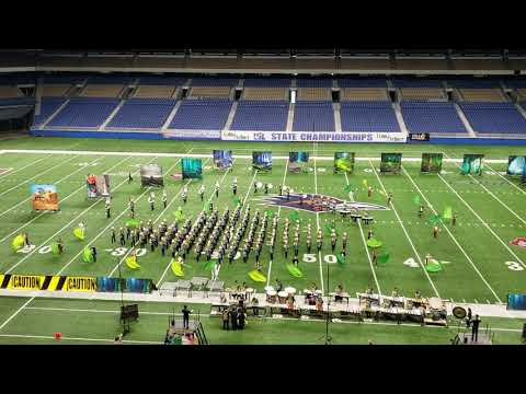 U.I.L. State Marching Contest 2018 - John B. Alexander High School Outdoor Performance Ensemble