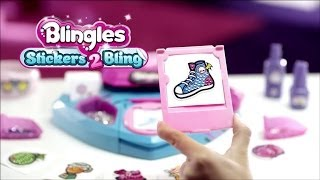 Blingles Stickers 2 Bling | Toy Commercial