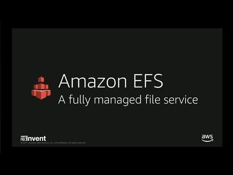 AWS re:Invent 2017: Live Demo: Accelerating Data Movement into Amazon EFS (DEM78)