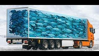 Euro Truck Simulator 2 (18+) везём Ивенты  с рыбалки на рыбалку!