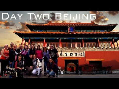 Day Two China Holiday! - Beijing - Tiananmen Square, Forbidden city, Hutong and Kung Fu Show!