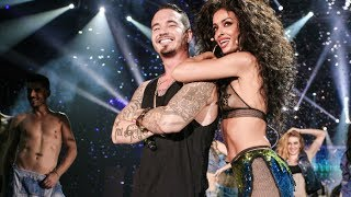 Repeat youtube video J Balvin & Eλένη Φουρέιρα - Tranquila (Mad VMA 2014 by Airfasttickets)