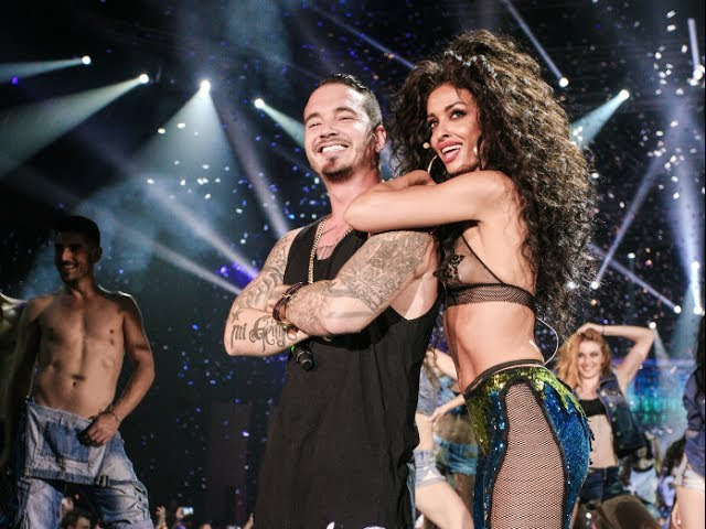 J Balvin & Eλένη Φουρέιρα - Tranquila (Mad VMA 2014 by Airfasttickets)