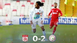 Sivasspor - Çaykur Rizespor 0-2 Maç Özeti  Sivasspor 0-2 Rizespor Maç Özeti  26 Ekim 2020