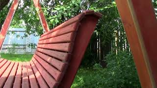 Садовые качели своими руками.Размеры.Garden swing do it yourself. Dimensions.
