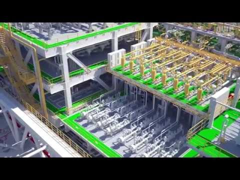 P63 FPSO - Process Plant (Eng Audio)